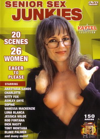 Senior Sex Junkies front cover