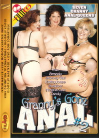 Granny's Gone Anal #2 front cover