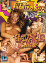 Savage Sluts front cover