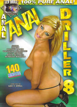 Anal Driller #8 front cover