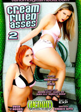 Cream Filled Asses 2 front cover