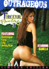 Transexual Fantasy #3 porn dvd cover