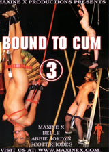 Bound To Cum #3 front cover