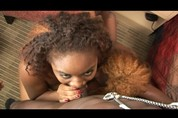 Monea & Shyla swallow dick & cum