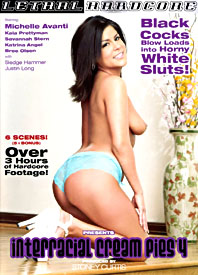 Interracial Cream Pies #4 front cover