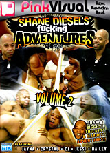Shane Diesel's Fucking Adventures Volume 2 front cover