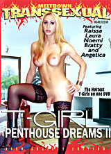 T-Girl Penthouse Dreams #2 porn dvd cover