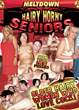 Hairy Horny Seniors front cover