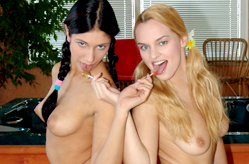 Hot Teens in 3Some