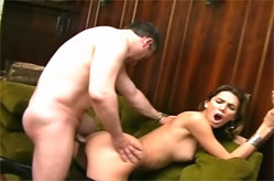 Sexy T-Girl fucked from behind