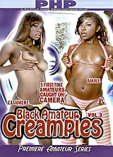 Black Amateur Creampies #3 front cover