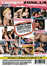 Horny Black Babysitters back cover
