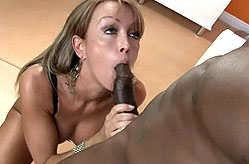 Kristina Cross Makes A Blowjob Video