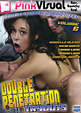 Double Penetration Tryouts #6 front cover