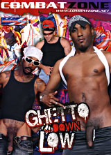 Ghetto Down Low porn dvd cover