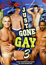 Just Gone Gay #3 porn dvd cover