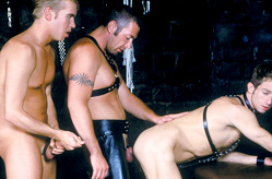 Threesome in the Dungeon