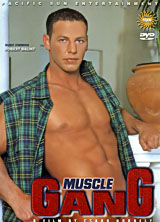 Muscle Gang porn dvd cover