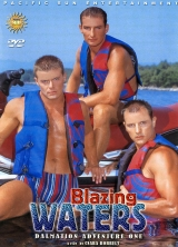 Blazing Waters front cover