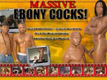 Massive Ebony Cocks