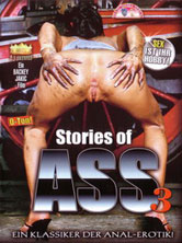 Stories of ass 3 DVD Cover