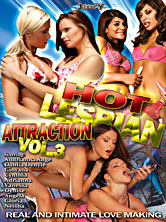 Hot Lesbian Attraction #3 DVD Cover