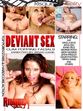 Deviant Sex Cum Popping Facials Part 1 DVD Cover