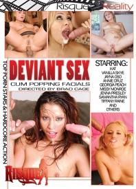 Deviant Sex Cum Popping Facials Part 2 Dvd Cover