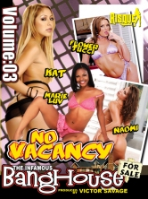 The Infamous BangHouse Vol.3 No Vacancy Part 2 DVD Cover