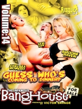 The Infamous BangHouse Vol.14 Guess Who's Coming To Dinner Part 3 DVD Cover