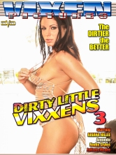 Dirty Little Vixxens Vol 3 DVD Cover