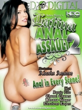 Latina Anal Assault #2 HD DVD Cover