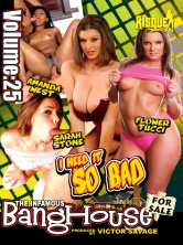 BangHouse Vol 25 - I Need It So Bad Part 1 DVD Cover
