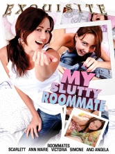 My Slutty Roomate HD DVD Cover