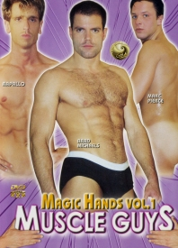 Magic Hands Vol.1 Muscle Guys Dvd Cover