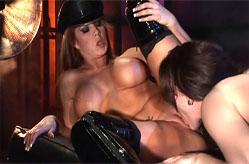 Horny lesbian scene